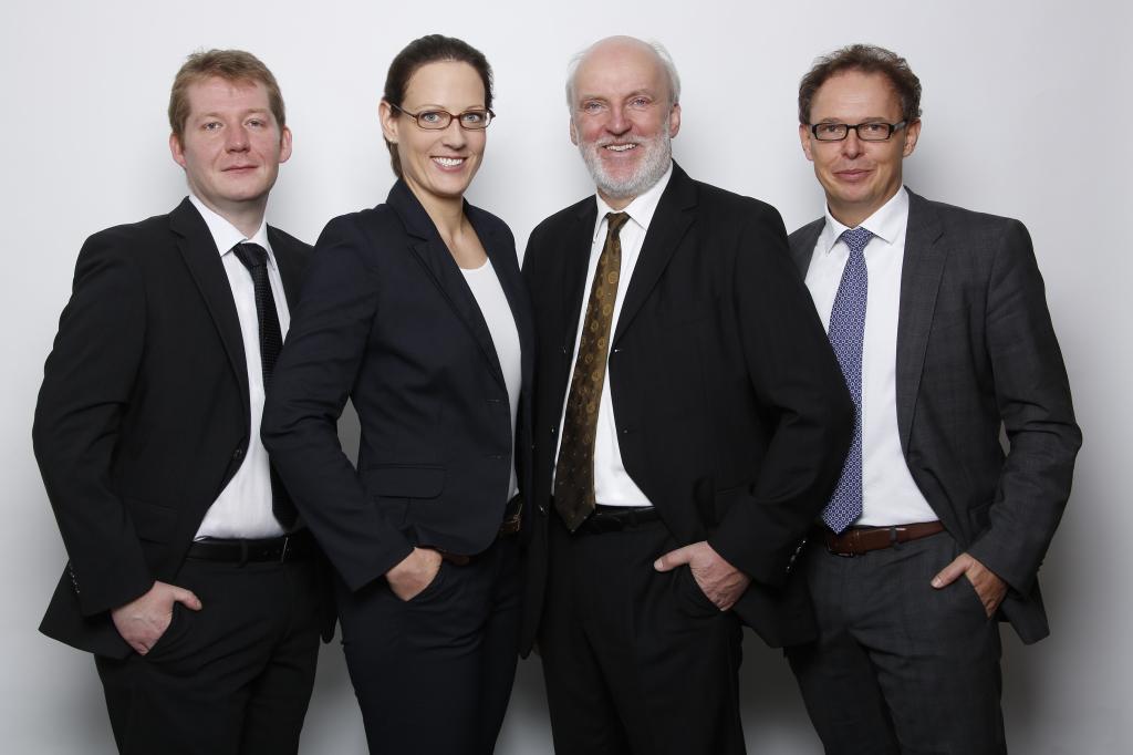 Die Anwälte der Kanzlei am Südertor.